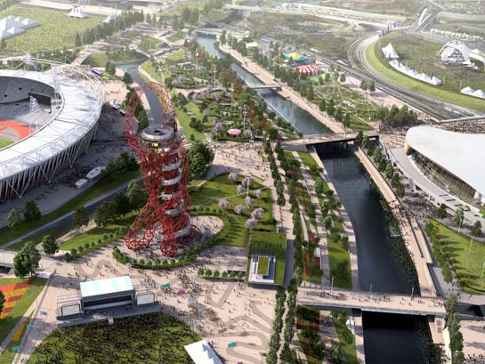 The Queen Elizabeth Olympic Park A Tangible Legacy Urban Rural